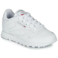 Παπούτσια Παιδί Χαμηλά Sneakers Reebok Classic CLASSIC LEATHER C Άσπρο