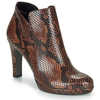 Παπούτσια Γυναίκα Μποτίνια Tamaris LYCORIS Brown / Python