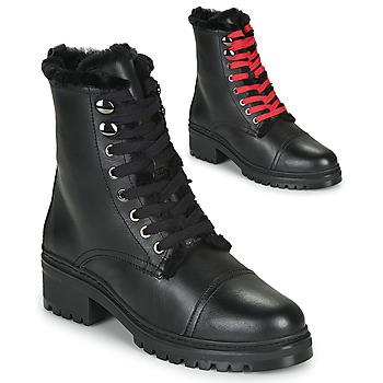 Παπούτσια Γυναίκα Μπότες Unisa IRACHE Black