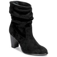 Παπούτσια Γυναίκα Μποτίνια Unisa ULANO Black