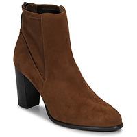 Παπούτσια Γυναίκα Μποτίνια Unisa UNDER Brown