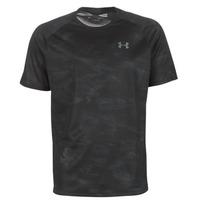 Υφασμάτινα Άνδρας T-shirt με κοντά μανίκια Under Armour TECH 2.0 SS PRINTED Black