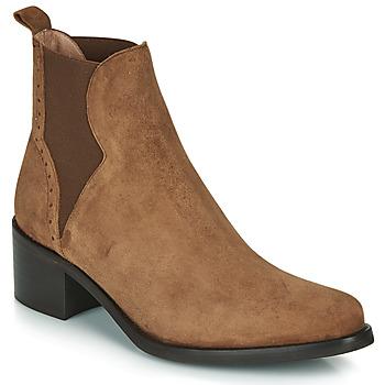 Παπούτσια Γυναίκα Μποτίνια Myma PALMA Cognac