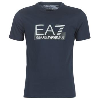 Υφασμάτινα Άνδρας T-shirt με κοντά μανίκια Emporio Armani EA7 GPT81-PJM9Z-1554 Marine