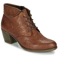 Παπούτσια Γυναίκα Μποτίνια Rieker Y2131-24 Brown