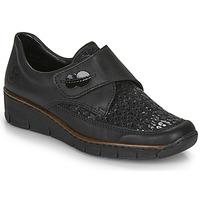 Παπούτσια Γυναίκα Χαμηλά Sneakers Rieker 537C0-02 Black