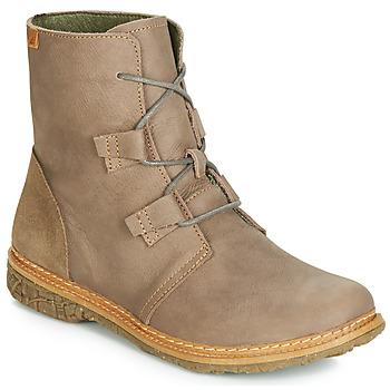 Παπούτσια Γυναίκα Μπότες El Naturalista ANGKOR Grey