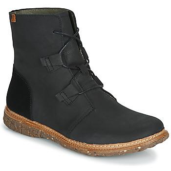 Παπούτσια Γυναίκα Μπότες El Naturalista ANGKOR Black