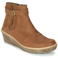 Παπούτσια Γυναίκα Μποτίνια El Naturalista MYTH YGGDRASIL Brown