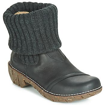 Παπούτσια Γυναίκα Μπότες El Naturalista YGGDRASIL Black