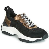 Παπούτσια Γυναίκα Χαμηλά Sneakers Mam'Zelle HELIUM Black / Bronze