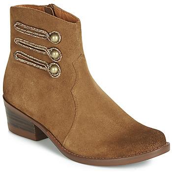 Παπούτσια Γυναίκα Μπότες Mam'Zelle JUDITH Cognac