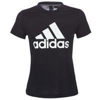 Υφασμάτινα Γυναίκα T-shirt με κοντά μανίκια adidas Performance DY7734 Black
