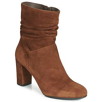 Παπούτσια Γυναίκα Μποτίνια Perlato 11265-CAM-COGNAC Cognac