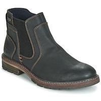 Παπούτσια Άνδρας Μπότες Tom Tailor MARTY Black