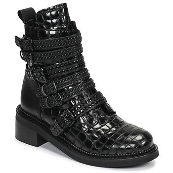 Παπούτσια Γυναίκα Μπότες Mimmu RIPTILUS Black