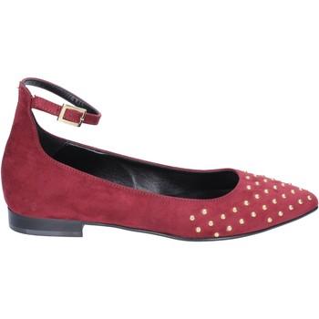 Παπούτσια Γυναίκα Μπαλαρίνες Olga Rubini ballerine camoscio bordeaux