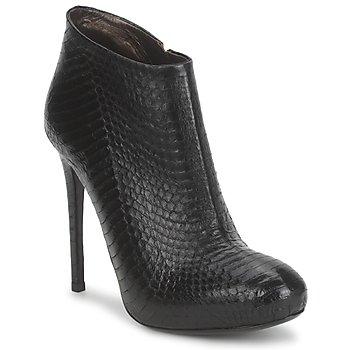 Παπούτσια Γυναίκα Μποτίνια Roberto Cavalli TRONCHETTO Black