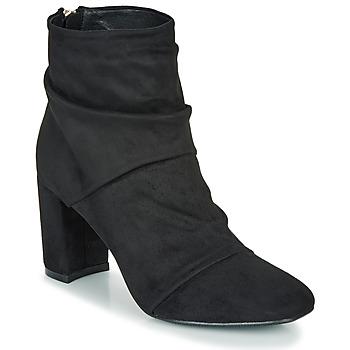 Παπούτσια Γυναίκα Μποτίνια Moony Mood FIRETTE Black