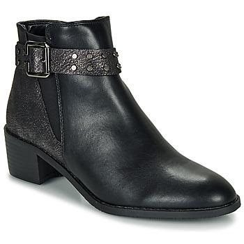 Παπούτσια Γυναίκα Μπότες Moony Mood FLOURETTE Black