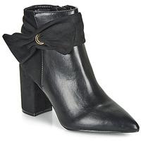 Παπούτσια Γυναίκα Μποτίνια Moony Mood FALABEL Black