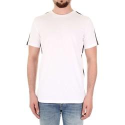 Υφασμάτινα Άνδρας Πόλο με κοντά μανίκια  Selected 16066621 Bianco