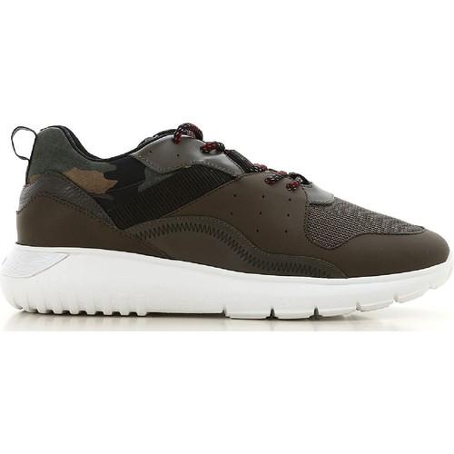 Παπούτσια Άνδρας Χαμηλά Sneakers Hogan HXM3710AQ10JIU737D color Mimetico