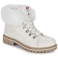 Παπούτσια Γυναίκα Μπότες Les Tropéziennes par M Belarbi LACEN Άσπρο