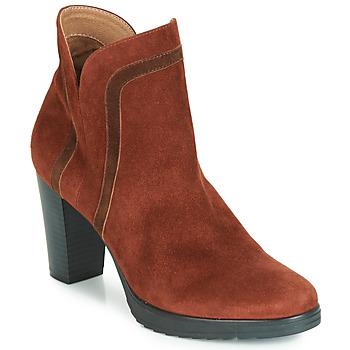 Παπούτσια Γυναίκα Μποτίνια Karston VASOR Brown