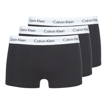 Εσώρουχα Άνδρας Boxer Calvin Klein Jeans COTTON STRECH LOW RISE TRUNK X 3 Black
