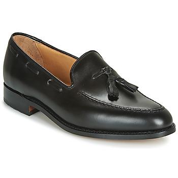 Παπούτσια Άνδρας Μοκασσίνια Barker TASSEL Black