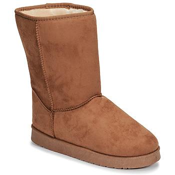 Παπούτσια Γυναίκα Μπότες Spot on JULIA Beige