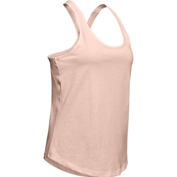 Υφασμάτινα Γυναίκα Αμάνικα / T-shirts χωρίς μανίκια Under Armour X-Back Tank Rose
