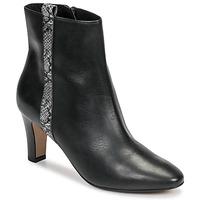 Παπούτσια Γυναίκα Μποτίνια Tamaris MAFIATA Black / Reptile