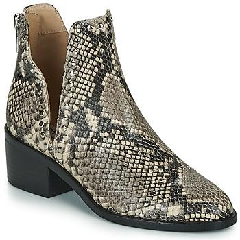 Παπούτσια Γυναίκα Μπότες Steve Madden CONSPIRE Beige / Python