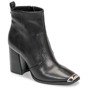 Παπούτσια Γυναίκα Μποτίνια Steve Madden ENZO Black