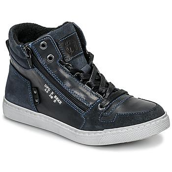 Ψηλά Sneakers Bullboxer AGM531E6L-NGBLK