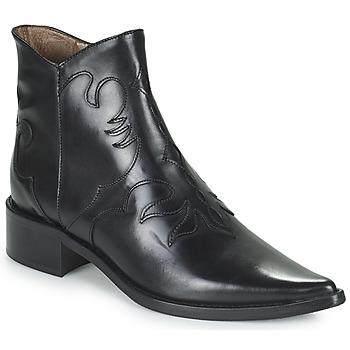Παπούτσια Γυναίκα Μποτίνια Muratti REDBUD Black