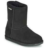 Παπούτσια Κορίτσι Μπότες EMU BRUMBY LO WATERPROOF Black