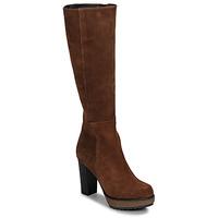 Παπούτσια Γυναίκα Μπότες για την πόλη Sweet Lemon SICORA Cognac