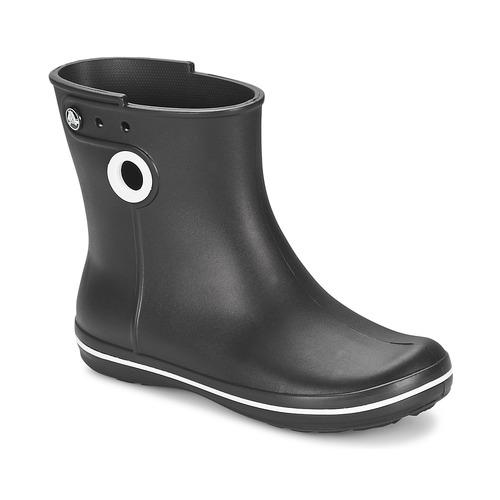 Παπούτσια Γυναίκα Μπότες βροχής Crocs JAUNT SHORTY BOOT W-BLACK Black