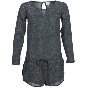 Υφασμάτινα Γυναίκα Ολόσωμες φόρμες / σαλοπέτες Petite Mendigote LOUISON Black / Grey