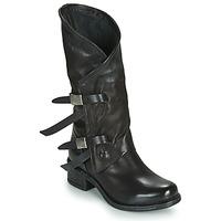 Παπούτσια Γυναίκα Μπότες για την πόλη Airstep / A.S.98 ISPERIA BUCKLE Black