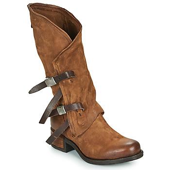 Παπούτσια Γυναίκα Μπότες για την πόλη Airstep / A.S.98 ISPERIA BUCKLE Brown