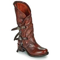 Παπούτσια Γυναίκα Μπότες για την πόλη Airstep / A.S.98 ISPERIA BUCKLE Red