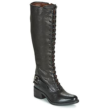 Παπούτσια Γυναίκα Μπότες για την πόλη Airstep / A.S.98 OPEA LACE Black