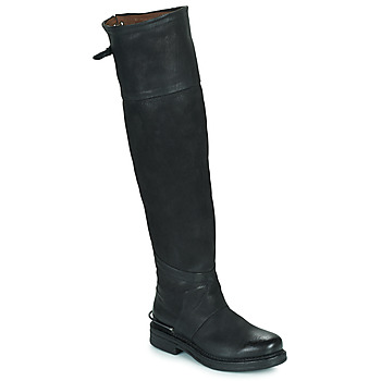 Παπούτσια Γυναίκα Μπότες για την πόλη Airstep / A.S.98 BRET HIGH Black