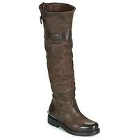 Παπούτσια Γυναίκα Μπότες για την πόλη Airstep / A.S.98 BRET HIGH Brown