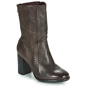 Παπούτσια Γυναίκα Μποτίνια Airstep / A.S.98 FRESH ZIP Grey / Fonce