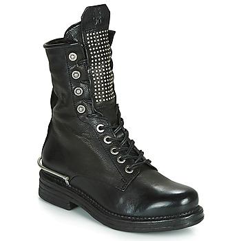 Παπούτσια Γυναίκα Μπότες Airstep / A.S.98 BRET METAL Black